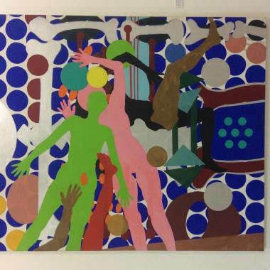 """""""Selfportrait"""", 1964 (huile et acrylique sur toile)"""