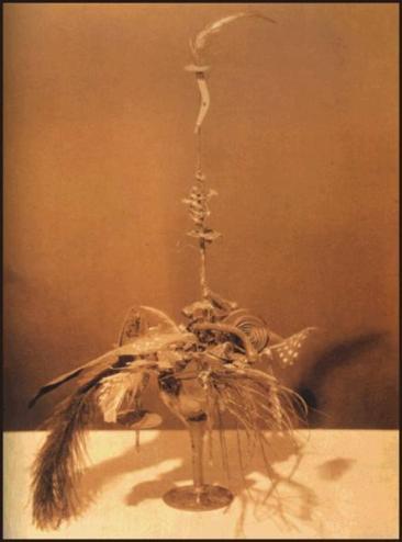 "Elsa von Freytag-Loringhove, ""Portrait de Marcel Duchamp"", 1919. Photo Charles Sheeler vers 1920"